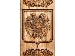"Backgammon ""Coat of arms of Armenia"" #2"