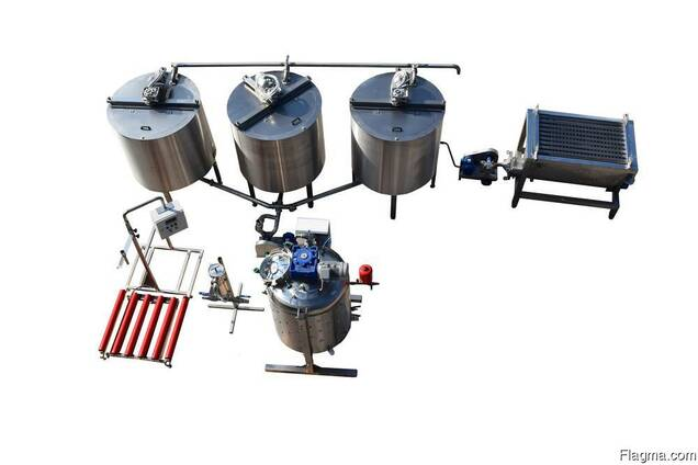 Honey processing line