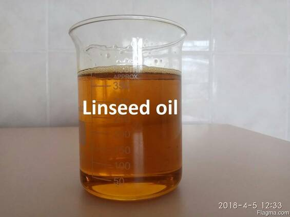 Linseed oil and cake