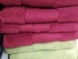 Махровые полотенца, плотность 280-750г\м .100% хлопок - фото 4