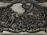 Нарды «Охота на Фазана» резные - фото 2