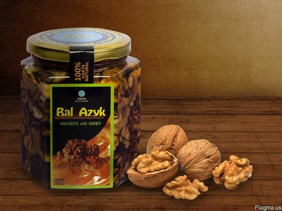 "Nuts and dried fruits in honey ""Bal Azyk"""