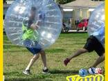 Zorb Ball Bubble Soccer Human Hamster Water Walking Roller - photo 2
