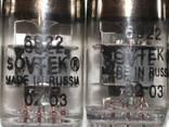 Audio tubes 6922 sovtek, E88CC, 6N8S, 300B, 845W, UO-186 etc - photo 1