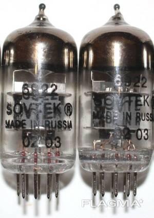 Audio tubes 6922 sovtek, E88CC, 6N8S, 300B, 845W, UO-186 etc