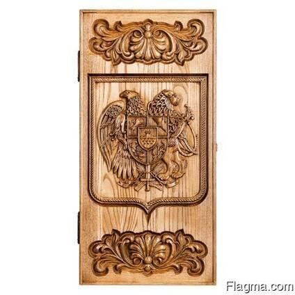 "Backgammon ""Coat of arms of Armenia"" #2"