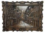 """Carved panel – """"City"""" - photo 1"""
