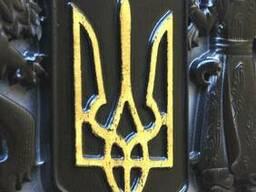 Деревянный резной Герб Украины - photo 3