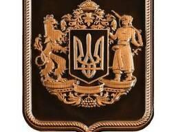 Деревянный резной Герб Украины - photo 5