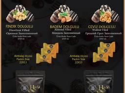 """Hadji"" chocolate dates with almonds - photo 2"