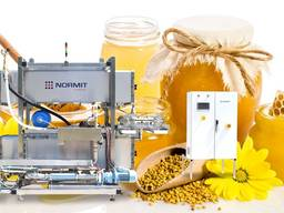 Honey pasteurizing and cooling equipment