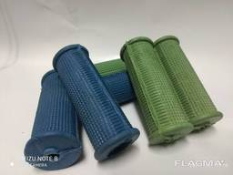 Rubber fitness grips