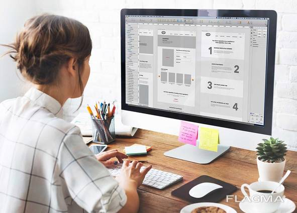 The creation and promotion of websites