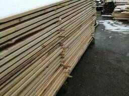 Timber from pine. Wood materials. lumber from the manufactur - photo 3
