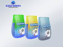 Washing powder PLATINUM for washing with a machine